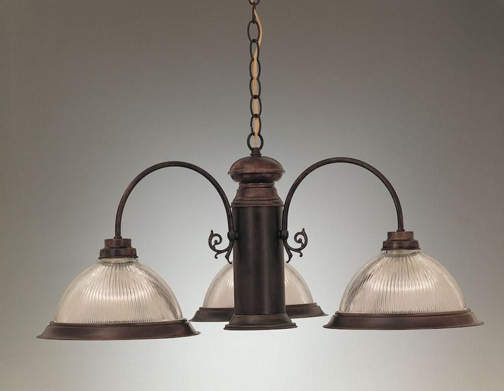 4-Light Country Chandelier