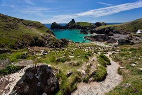 Photo of Path down to Kynance Cove, Cornwall -