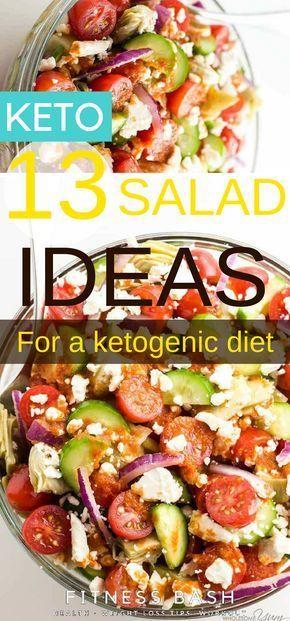 Ketosalat-Rezepte: Die Ketosalat-Rezepte, die perfekt für ein Ketomittagessen oder …