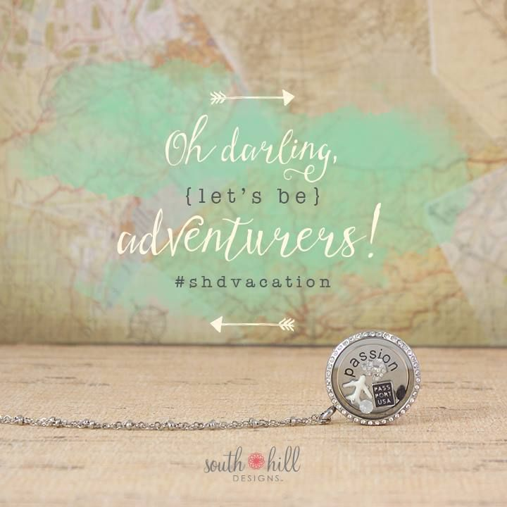 Summer has us daydreaming of sand between our toes, salty air and of course, South Hill Designs! Use ‪#‎SHDVacation‬ to show us how you wear South Hill Designs while on vacation! www.mycharminglockets.ca #SHD