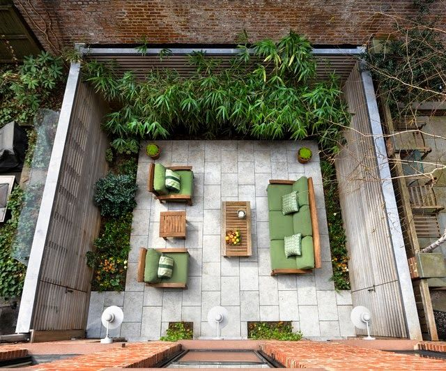 M s de 25 ideas incre bles sobre patio trasero peque o en for Decoracion de patios y jardines fotos