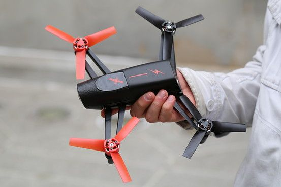 Parrot Bebop Drone Has Big Camera, GPS for Aerial Action - Digits - WSJ