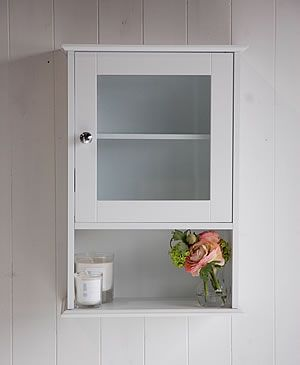 Wall Mounted bathroom Cabinet from The White Lighthouse