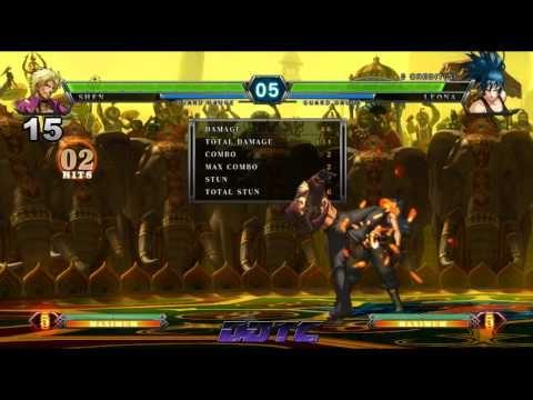 King of Fighters XIII - Shen, Shanghai's God of War, combo tutorial #KOFXIII
