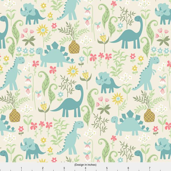 3186 best color pattern images on pinterest stamping for Girly dinosaur fabric