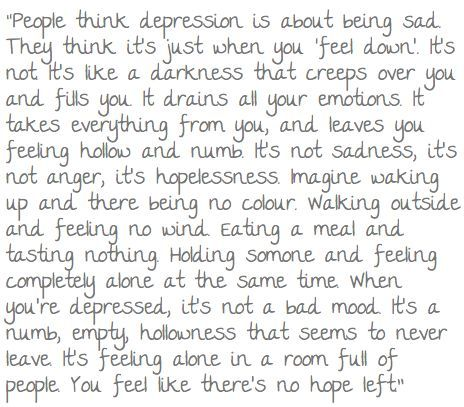#depression No jokes, if you feel like this, ask someone to take you to the doctor asap. #beentheredonethat
