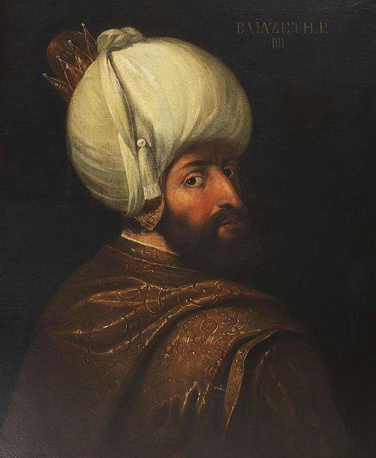 1580 tarihli Sultan I. Bayezid resmi ile ilgili görsel sonucu