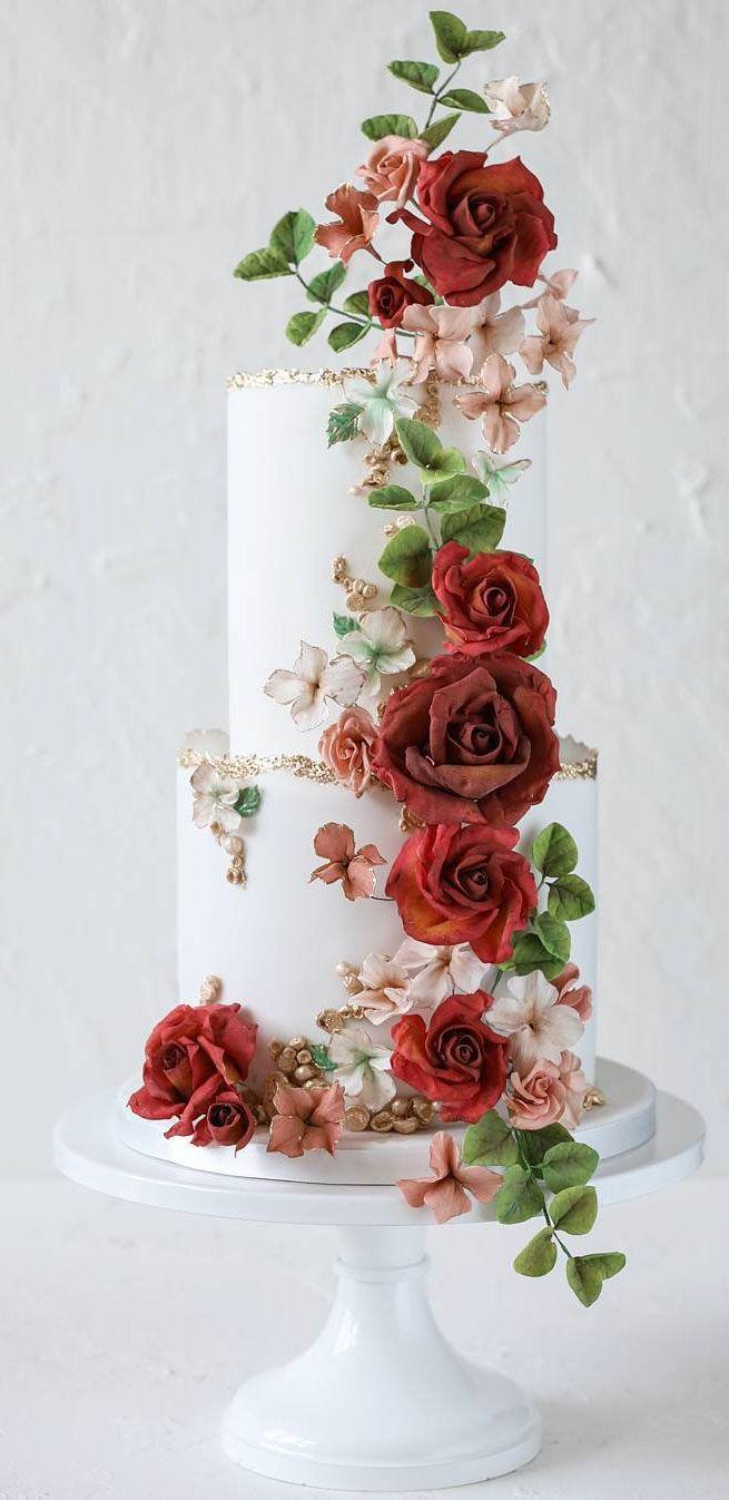 The Prettiest & Unique Wedding Cakes We've Ever Seen – Backen – Hochzeit