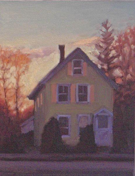 Green House, November Eve, Beacon Street Melissa Anne Miller