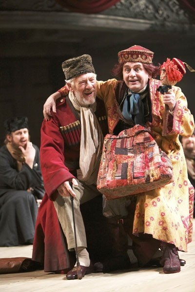 Shakespeare's King Lear with the RSC, 2008, starring Ian Mckellen (King Lear), Sylvester McCoy (The Fool),