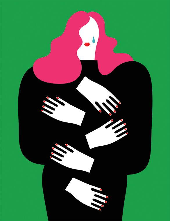 Simple,Colourful Figures in Olimpia Zagnoli's Cheeky but Thoughtful Illustrations