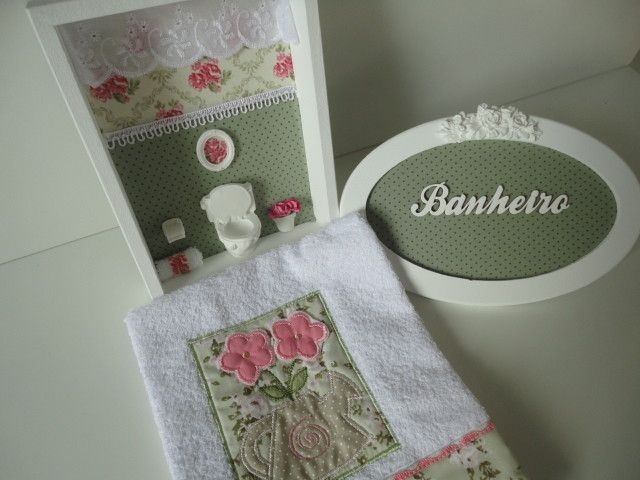Set De Baño Drapeado: images about Banheiro on Pinterest
