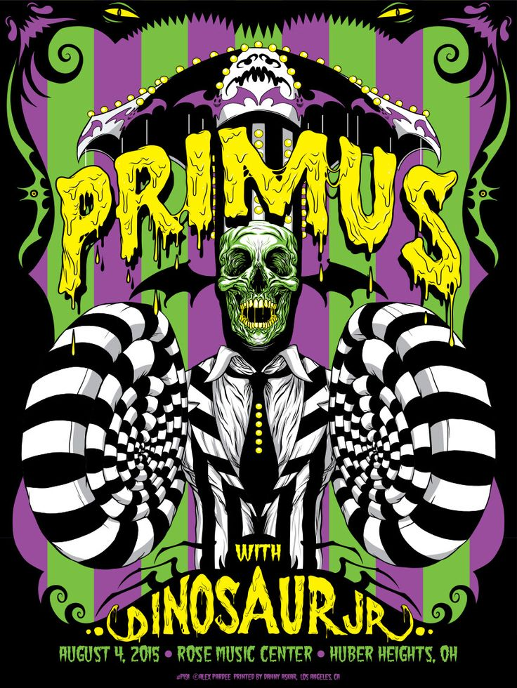 Alex Pardee Primus Huber Heights Poster Release