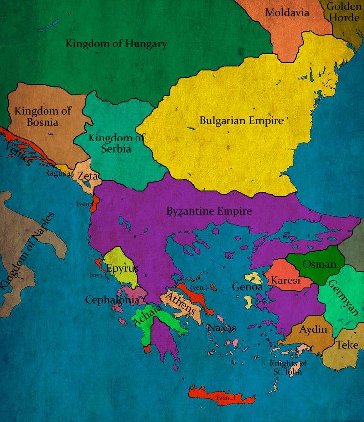 Bulgaria under Tsar emperor Theodor Svetoslav circa