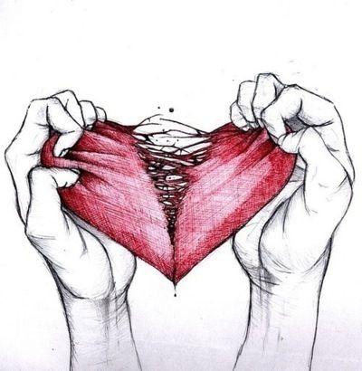je hebt mijn hart gebroken...