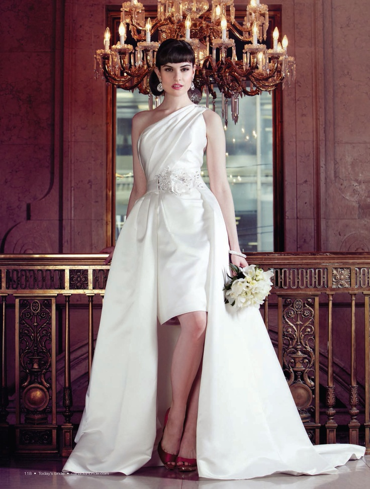 TODAY'S BRIDE MAGAZINE:  Makeup and hair:  Chantal Hubens, Judy Inc  Fashion styling:  Stephanie Saunders, Judy Inc