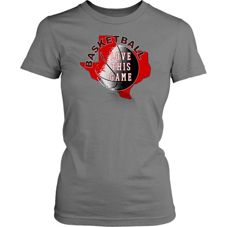 Texas Tech Basketball Love This Game Junior T-Shirt