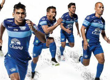 Chonburi FC 2015 Nike Home and Away Kits
