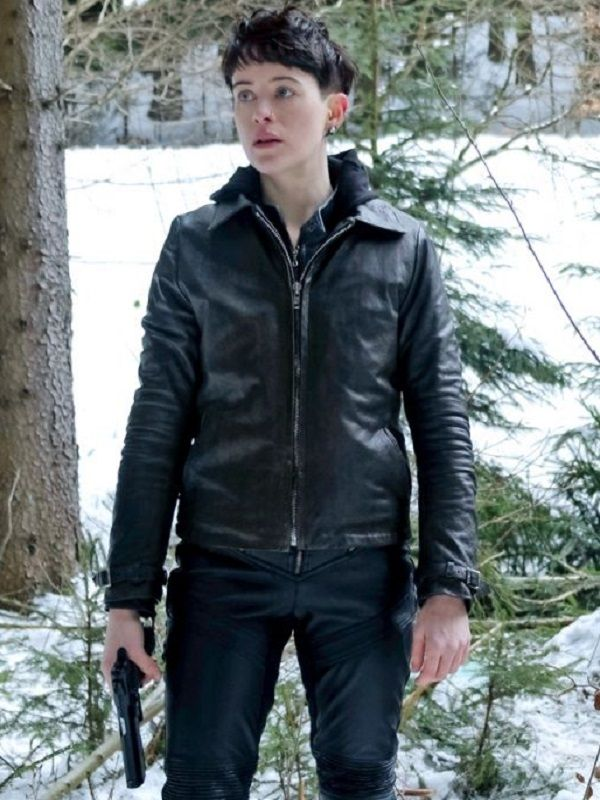 Claire Foy The Girl In The Spider S Web Leather Jacket With