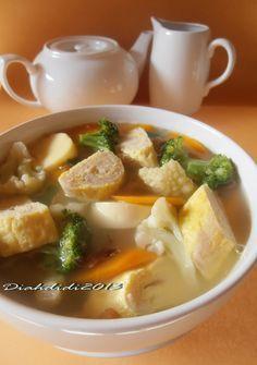 Diah Didi's Kitchen: Ketika Ayam dan Udang menyatu..Jadilah Rollade Yang Lezat..^^