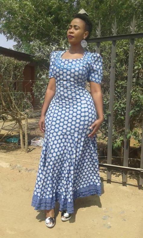 40+ Lesotho ShweShwe Dresses 2019 You Must Love