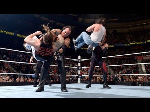 Undertaker and Kane vs The Wyatt Family l WWE Tag Team Championship l Su...