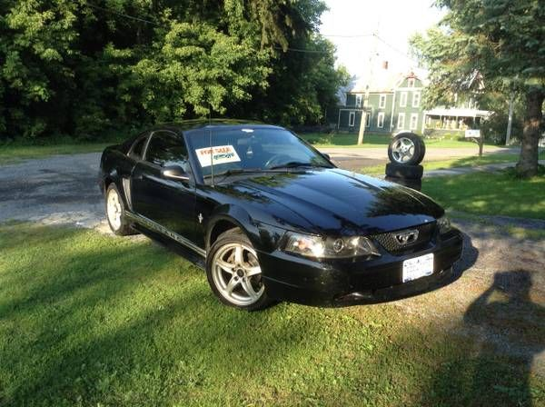 make ford model mustang year 2003 body style sports cars exterior color black interior. Black Bedroom Furniture Sets. Home Design Ideas