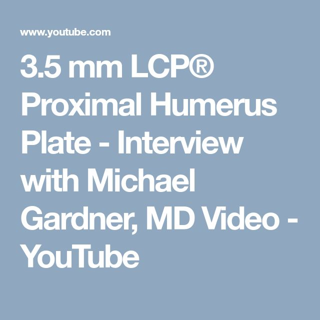 Dr. Gardner explains his preferred surgical techniques for proximal humerus fracture fixation including patient positioning, surgical approaches and fracture reduction.