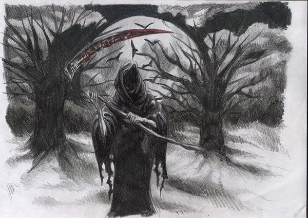 Grim Reaper by ~MadDrawerGirl on deviantART