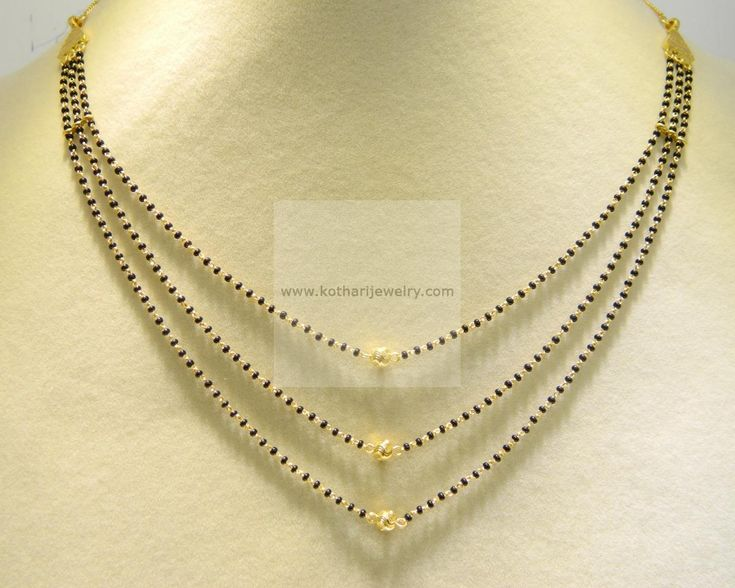 Mangalsutra - Gold Mangalsutra (MS19231769-18) at USD 395.18 And EURO 355.95