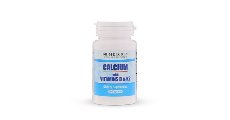 Calcium with Vitamins D and K2 supplement provides nutrients in an advanced form to help take control of your bone health.