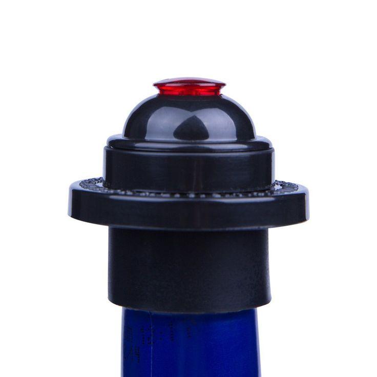 Vinolita #WineSaver Pump Set: Wine Vacuum Pump Preserver with 2 X Vacuum Bottle Stoppers( #winesaver vacuum pump #bottlestopper set  #wine #bestgift)