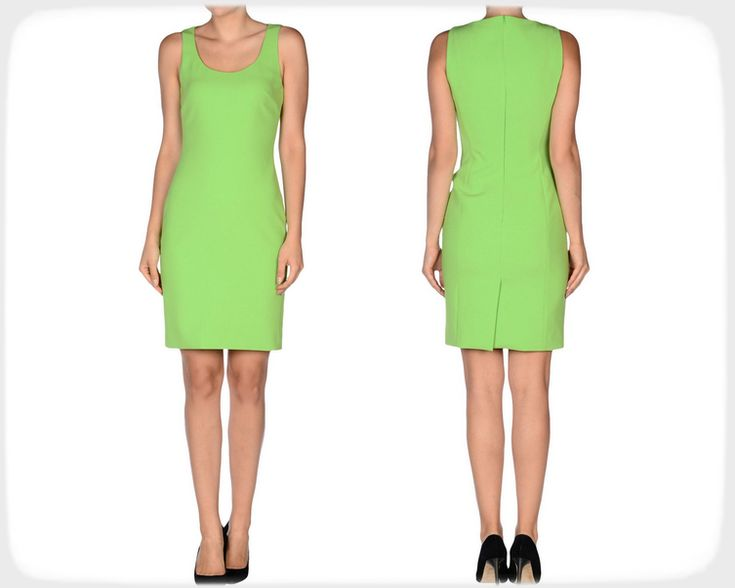 Платье футляр Moschino cheapandchic. Выкройка для размеров 48, 50, 52.
