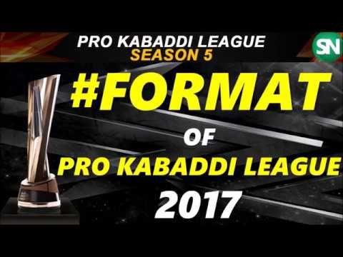 New Format of Pro Kabaddi League 2017
