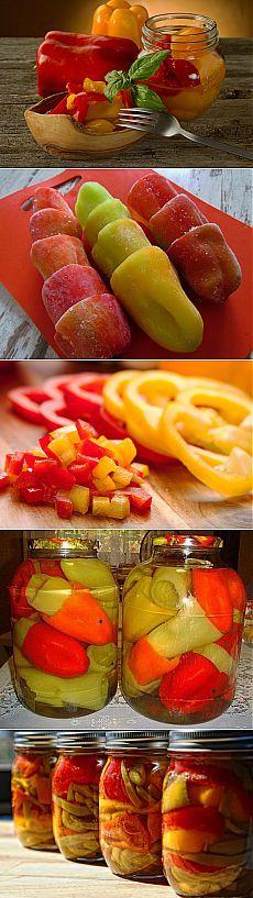 Как сделать болгарский перец хитом зимнего стола | Дачный участок