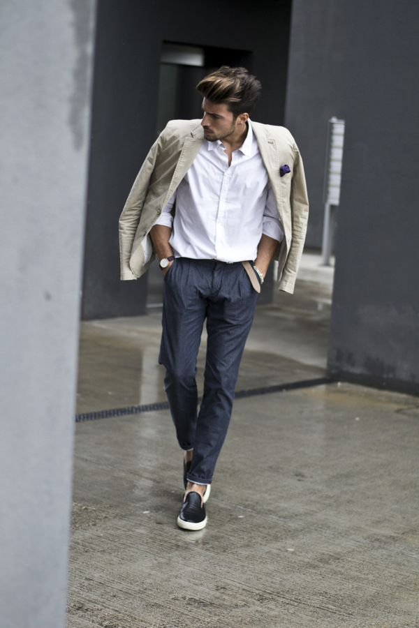 Wear it like a man! www.mdvstyle.com #marianodivaio