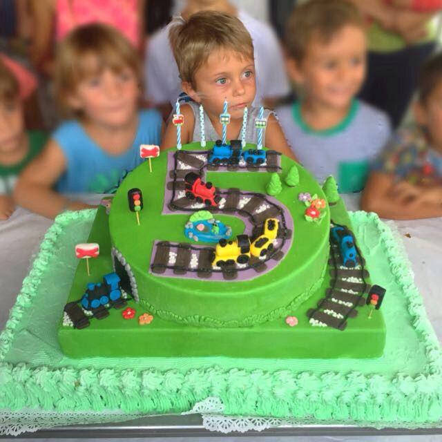 Home made Train cake