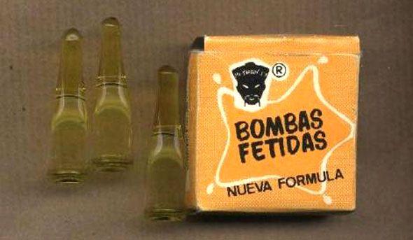 bombas-fétidas. Bromas inocentes...