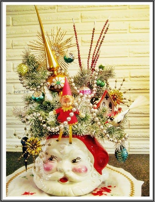 Vintage Finds, Mid Century and More at Evie's Haus: Vintage Christmas Finds!