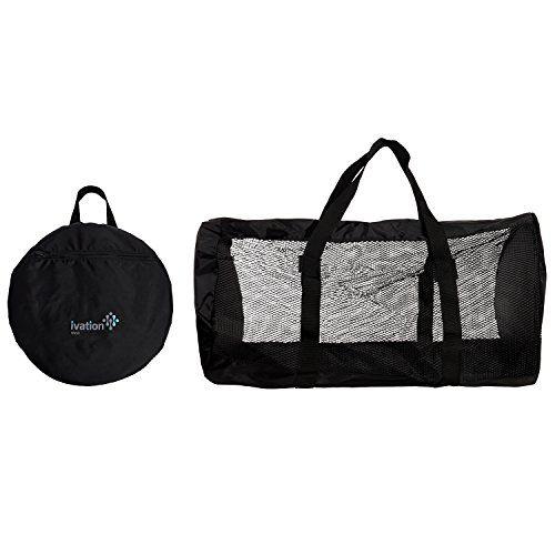 Dive Bag - Foldable Duffel Dive Bag - Compact, Durable Mesh Duffel Bag Features Storage Pouch for Diving, Scuba, Snorkel, Swim, Surf, Sports & More - http://scuba.megainfohouse.com/dive-bag-foldable-duffel-dive-bag-compact-durable-mesh-duffel-bag-features-storage-pouch-for-diving-scuba-snorkel-swim-surf-sports-more/