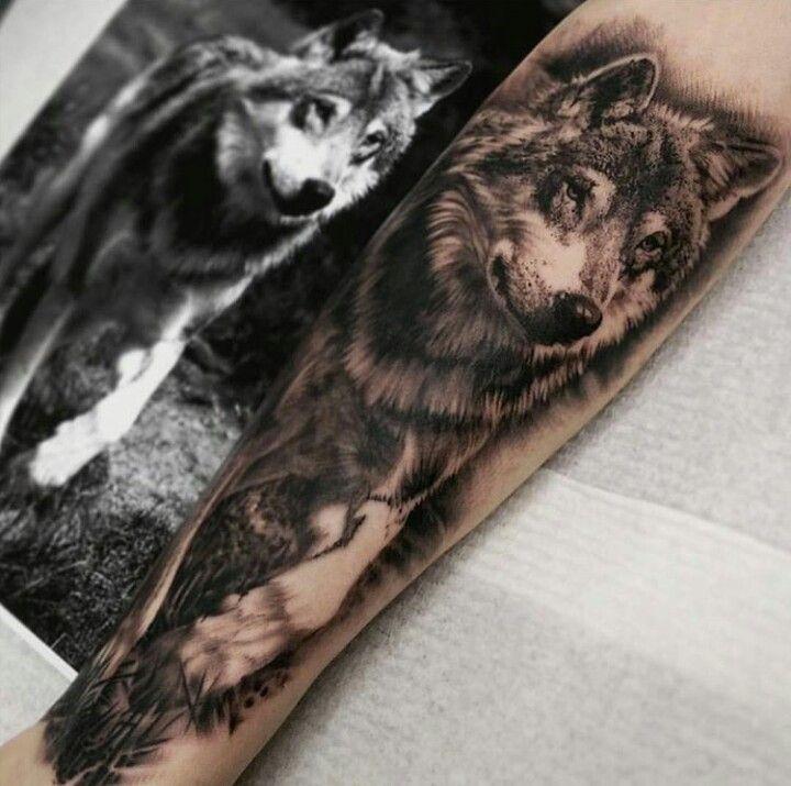 Wolf Tattoo Perfect                                                       …