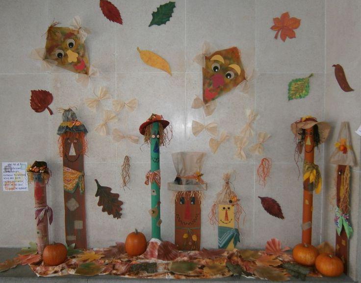 Výzdoba vchodu školy - podzim 2016.