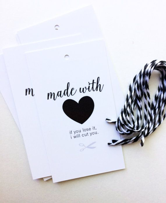 Not all are knit worthy, make sure the ones who are know how you really feel about gifting your knits. Snarky, fun gift tags are