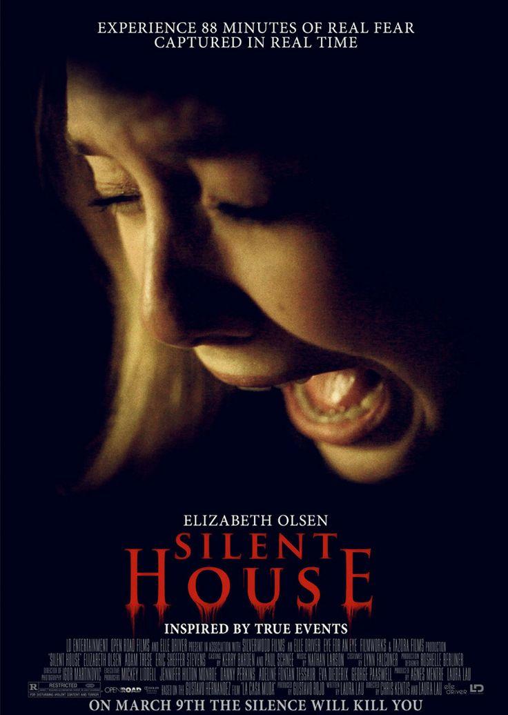 "Silent House / Σιωπηλό Σπίτι (2011)★ Το ""Silent House"" επικεντρώνεται στα παράξενα συμβάντα που ταλαιπωρούν μια νεαρή κοπέλα και τον πατέρα της στο εξοχικό τους σπίτι που προετοιμάζονταν να πουλήσουν. #SilentHouse"