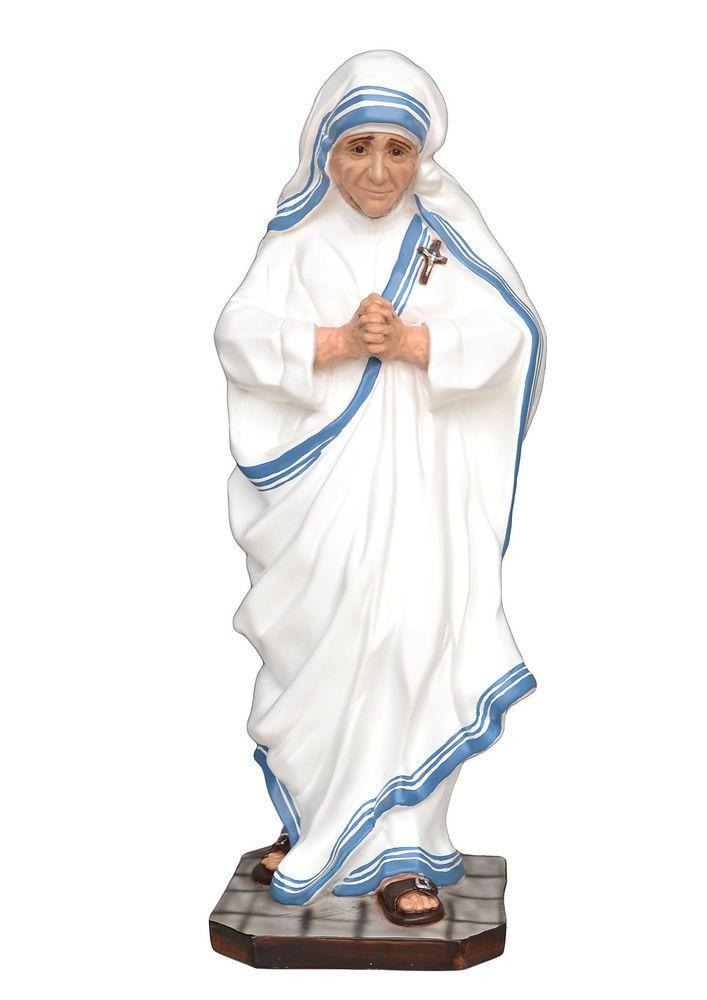 Saint Mother Teresa of Calcutta resin statue cm. 60
