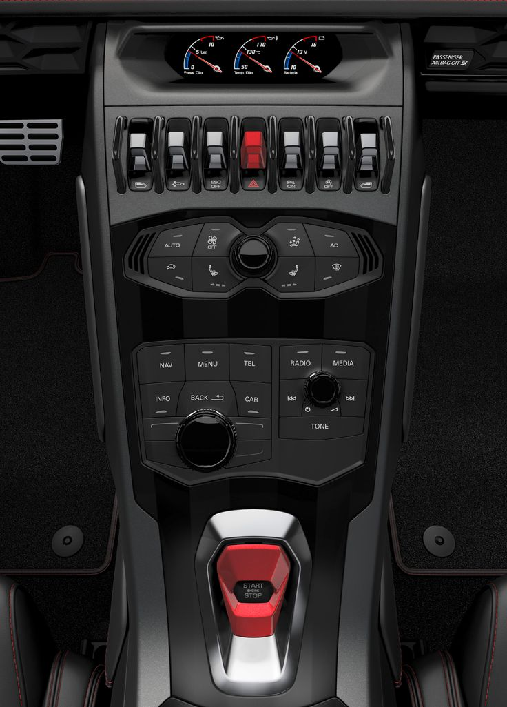 2015 Lamborghini Huracan Interior Center Stack #Dream Cars- More Dream Cars at Stylendesigns.com!