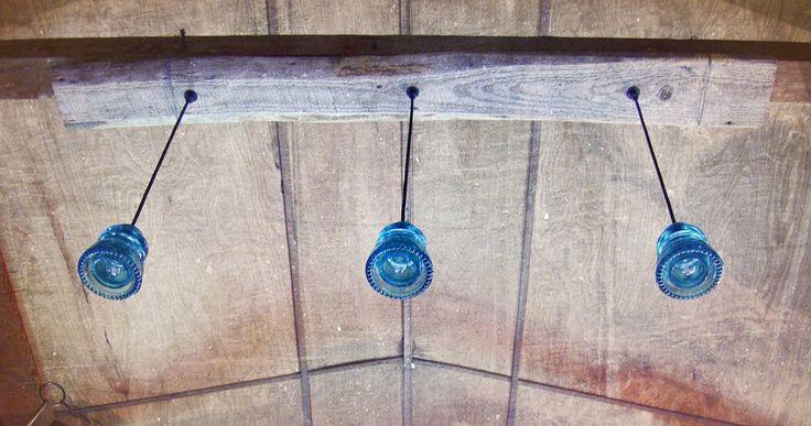 7 Color choices: Original Custom Glass Insulator Light fixture Handmade pendant Lighting Electrical Insulator Light Glass pendant light by DivineDiscoveries on Etsy https://www.etsy.com/listing/193548235/7-color-choices-original-custom-glass