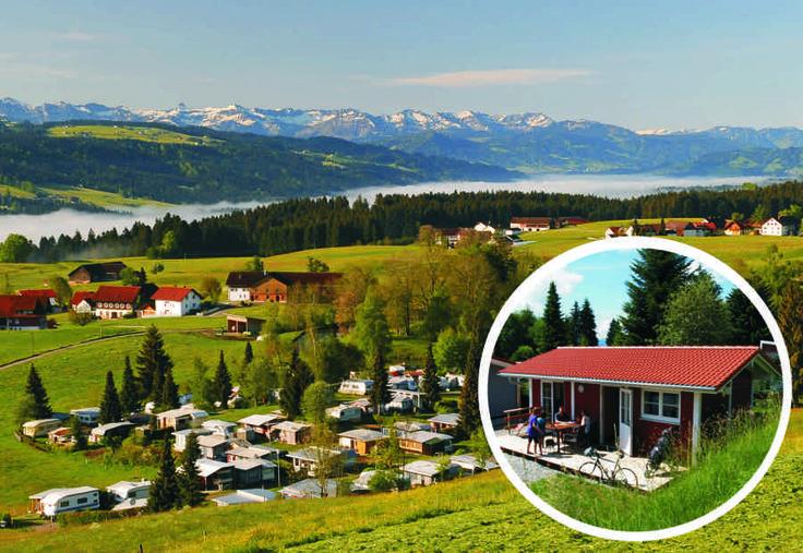 Camping Alpenblick in Weiler/Simmerberg | Beieren | Duitsland - Bekijk informatie en foto's