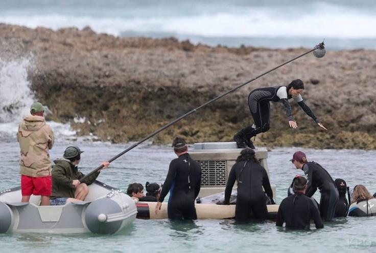 The Hunger Games: Catching Fire Hawaii Set Photos, Josh Hutcherson MTV Interview