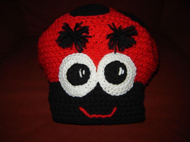 ladybird cap front